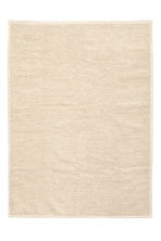 Wool-blend rug - Light beige - Home All | H&M CA 2