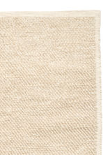 Wool-blend rug - Light beige - Home All | H&M CN 3