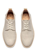 Derby shoes - Light mole - Men | H&M 3