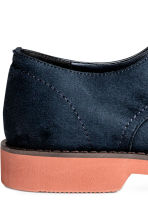 Derby shoes - Dark blue - Men | H&M 5