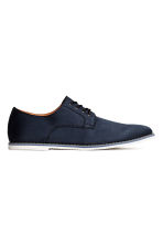 Derby shoes - Dark blue - Men | H&M 1