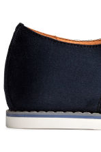 Derby shoes - Dark blue - Men | H&M 4