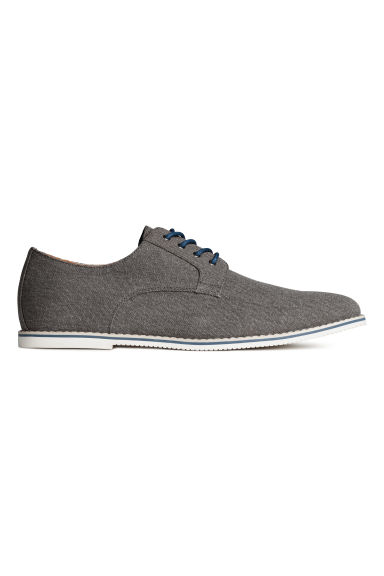 Derby shoes - Dark grey marl - Men | H&M CN