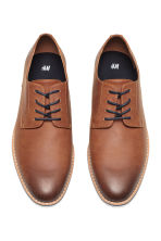 Derby shoes - Cognac brown - Men | H&M CN 2