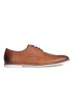 Derby shoes - Cognac brown - Men | H&M CN 1