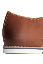 Derby shoes - Cognac brown - Men | H&M CN 4