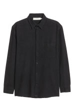 Chemise Relaxed fit - Noir - HOMME | H&M CH 2