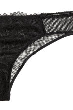 Lace Brazilian briefs - Black - Ladies | H&M CN 3