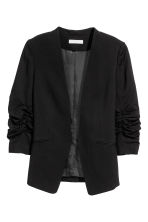 Fitted jacket - Black -  | H&M CN 2