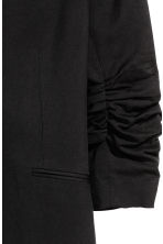 Fitted jacket - Black -  | H&M CN 3