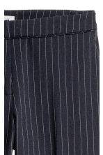 Suit trousers - Dark blue/Pinstriped - Ladies | H&M 3