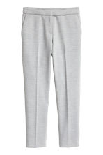 Suit trousers - Light grey marl - Ladies | H&M CN 2