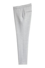 Suit trousers - Light grey marl -  | H&M 3