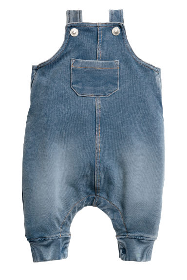Salopette morbida - Blu washed out - BAMBINO | H&M IT 1