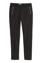 Suit trousers - Black -  | H&M 2