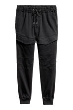 Cargo joggers - Black - Men | H&M 2