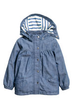Parka - Denim blue - Kids | H&M 1
