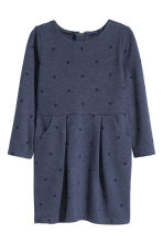 Jersey dress - Dark blue/Heart - Kids | H&M CN 2