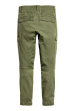 Cargo trousers - Khaki green -  | H&M 3