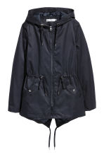 Padded parka - Dark blue - Ladies | H&M 2