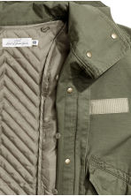 Parka with a detachable lining - Khaki green - Ladies | H&M 3