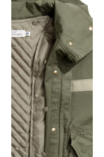 Parka with a detachable lining - Khaki green - Ladies | H&M CN 5