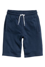 Sweatshirt shorts - Dark blue -  | H&M 2