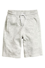 Sweatshirt shorts - Light grey marl - Kids | H&M CN 2