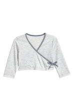 Dance top - Light grey marl - Kids | H&M 2