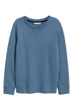 Sweatshirt - Blue - Kids | H&M CN 2