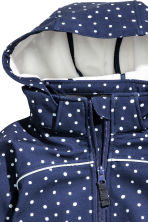 Softshell jacket - Dark blue/Spotted - Kids | H&M 3