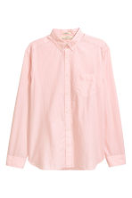Cotton shirt Regular fit - Light pink - Men | H&M 2