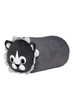 Coussin peluche - Gris anthracite/lion - Home All | H&M FR 2