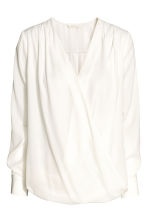 MAMA Nursing blouse - White - Ladies | H&M 2