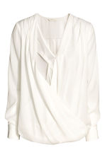 MAMA Nursing blouse - White - Ladies | H&M 3