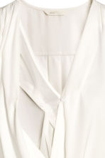 MAMA Nursing blouse - White - Ladies | H&M 4