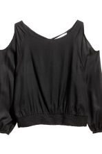 Cold shoulder blouse - Black - Kids | H&M 3