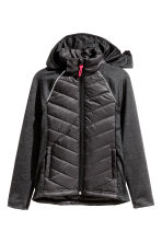 Padded lightweight jacket - Black - Kids | H&M 2