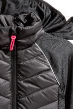 Padded lightweight jacket - Black - Kids | H&M 3