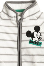 Fleece jacket - White/Mickey Mouse - Kids | H&M 2