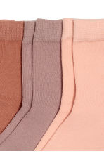 5-pack socks - Old rose - Ladies | H&M CN 2