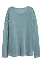 Fine-knit jumper - Turquoise - Ladies | H&M 2