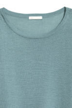 Fine-knit jumper - Turquoise - Ladies | H&M 3