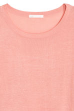 Fine-knit jumper - Powder pink - Ladies | H&M CN 3