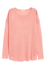 Fine-knit jumper - Powder pink - Ladies | H&M CN 2