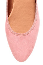 Ballet pumps - Powder pink - Ladies | H&M CN 3