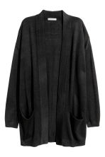 Knitted cardigan - Black -  | H&M 3