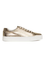 Trainers - Gold - Ladies | H&M 2