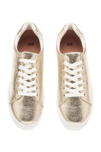 Trainers - Gold - Ladies | H&M 3