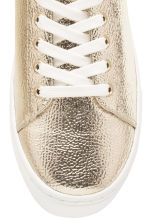 Trainers - Gold - Ladies | H&M 4